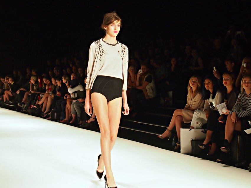 Kate sylvester mbfwa cashmere