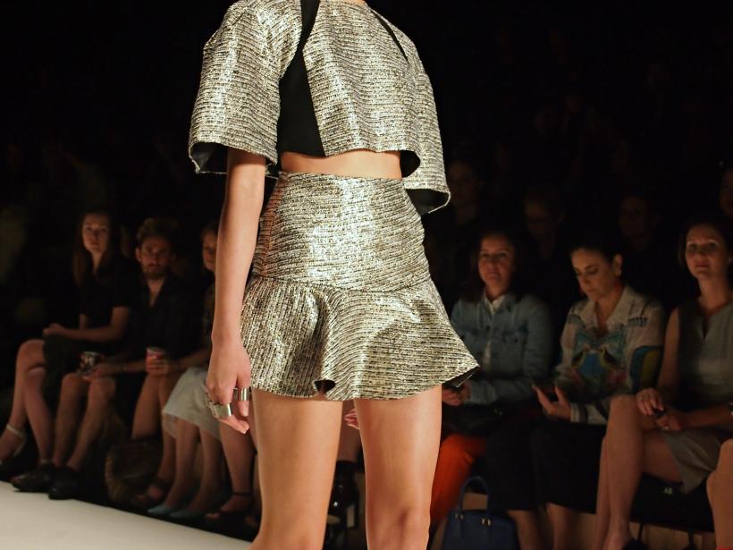 Alice mccall metallic top skirt