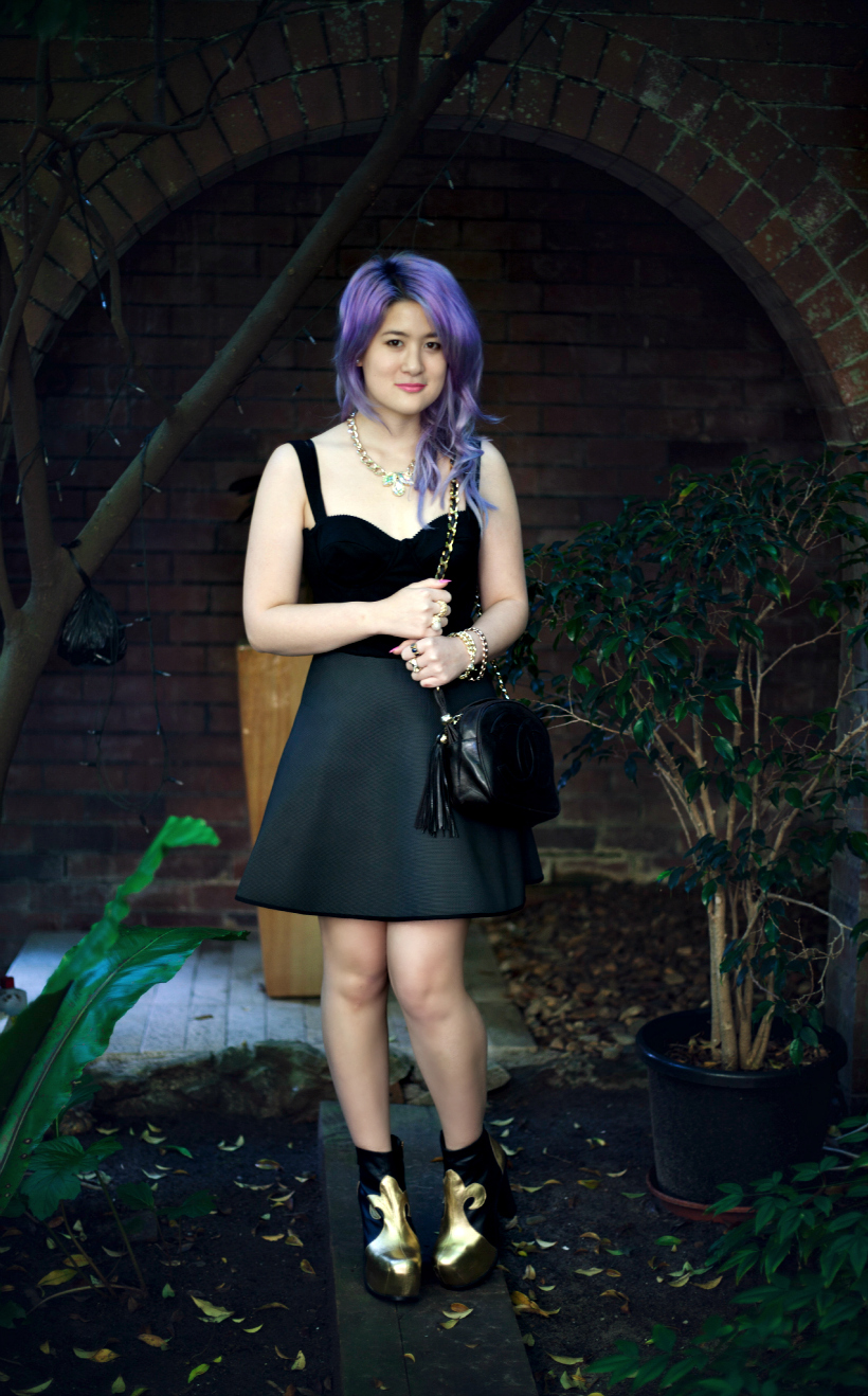 Neoprene stolen gfs club dress