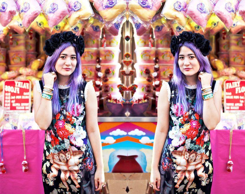 Emi unicorn floral baroque dolce gabbana reflect