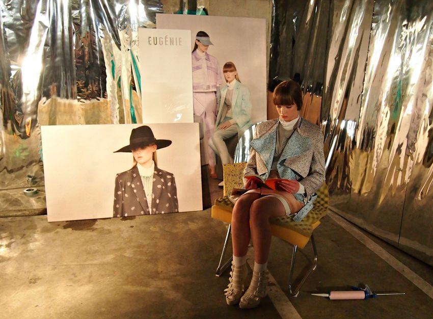 Eugénie nzfw underground show installation 2013