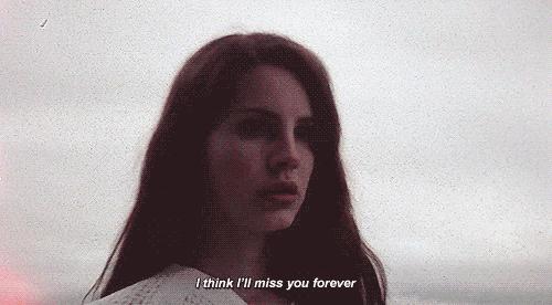Lana del rey love break up song