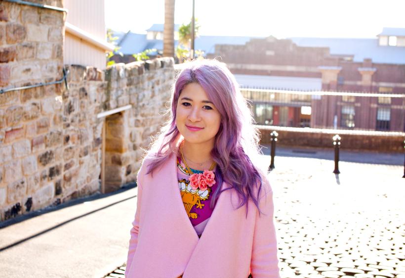 Emi Unicorn pink pretty pastel lilac hair ootd blogger.jpg