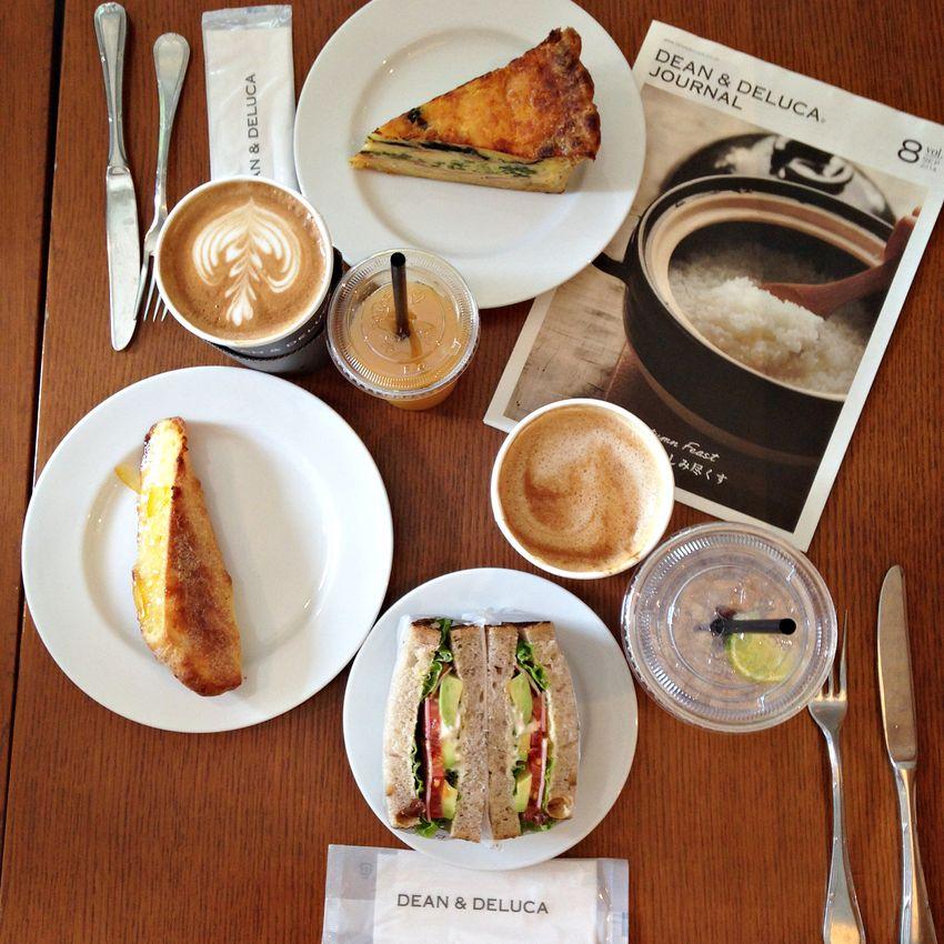 Dean & deluca tokyo breakfast