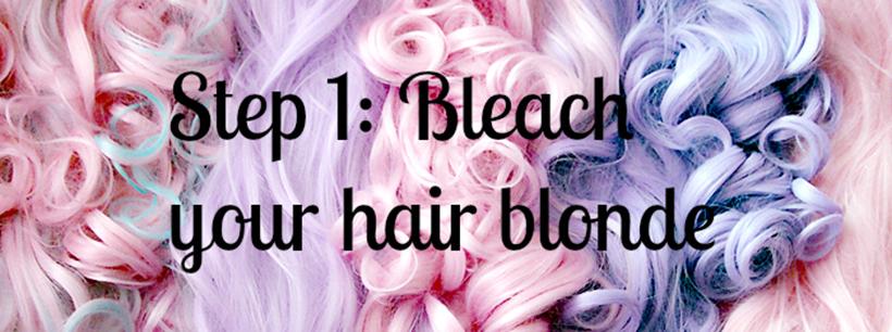 Step1 pastel hair