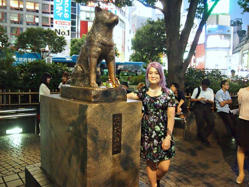 Shibuya dog hachiko emi unicorn
