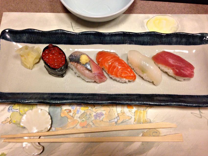 Japan food travel nigiri sushi