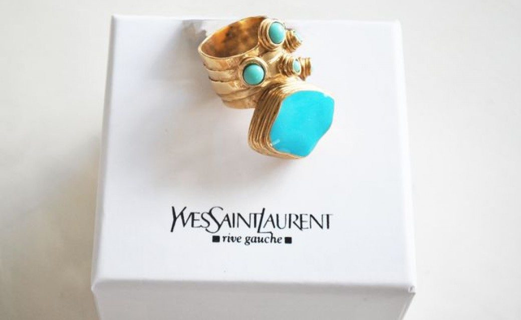 WIN a Yves Saint Laurent arty ring!!