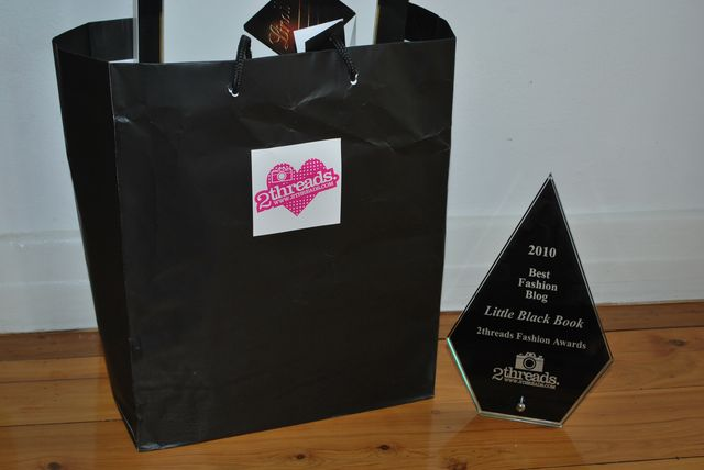 2threads Fashion Awards 2010: Little Black Book wins Best Fashion Blog