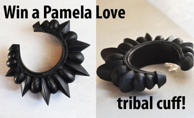 WIN a PAMELA LOVE TRIBAL RESIN CUFF