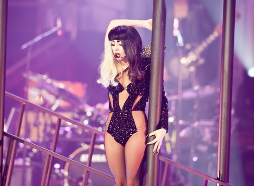 Lady Gaga at Monsterhall Sydney