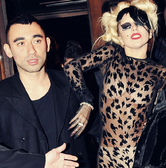 Nichola_Formichetti_Lady_Gaga_via_Metro_Bluefly_blog_Flypaper