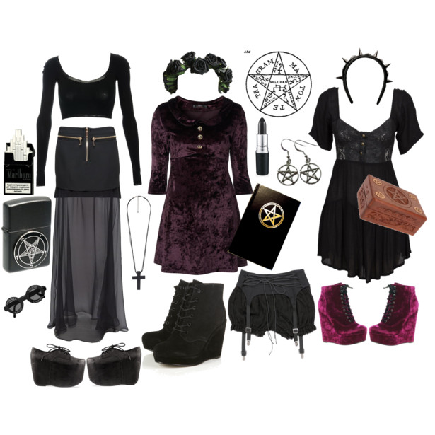 How To Dress Like A Witch For