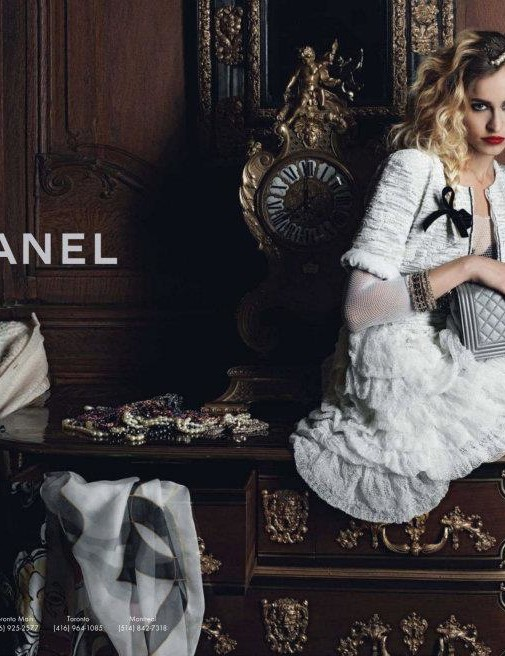 Alice Dellal for CHANEL