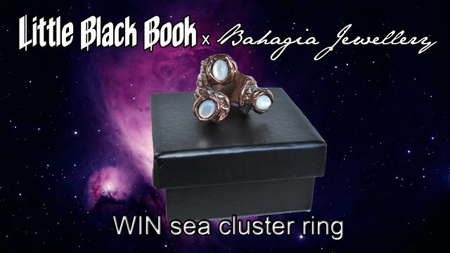 Sea Cluster Ring Giveaway