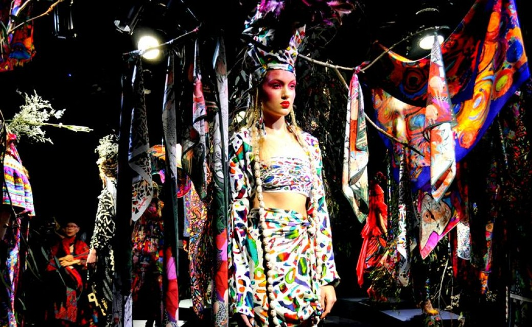 MBFWA 2012: Jenny Kee 'Art of the Scarf' SS 12/13