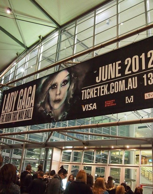 Lady Gaga BORN THIS WAY BALL Sydney