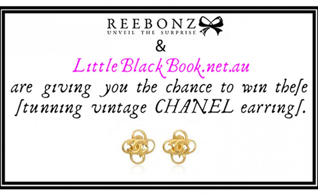 Reebonz.com + LittleBlackBook.net.au Giveaway: WIN CHANEL EARRINGS