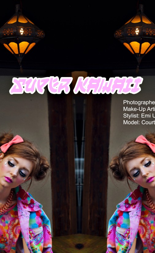 Super Kawaii editorial – Superhero Mag