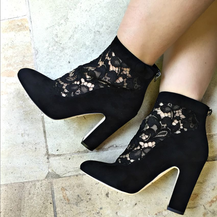Dolce gabbana vally shoes heels boots lace