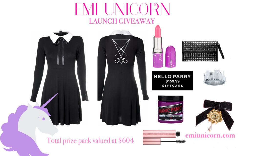 HELLO EMI UNICORN giveaway