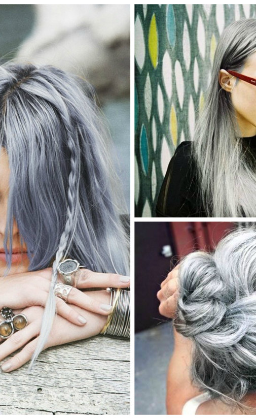 50 shades of pastel grey hair