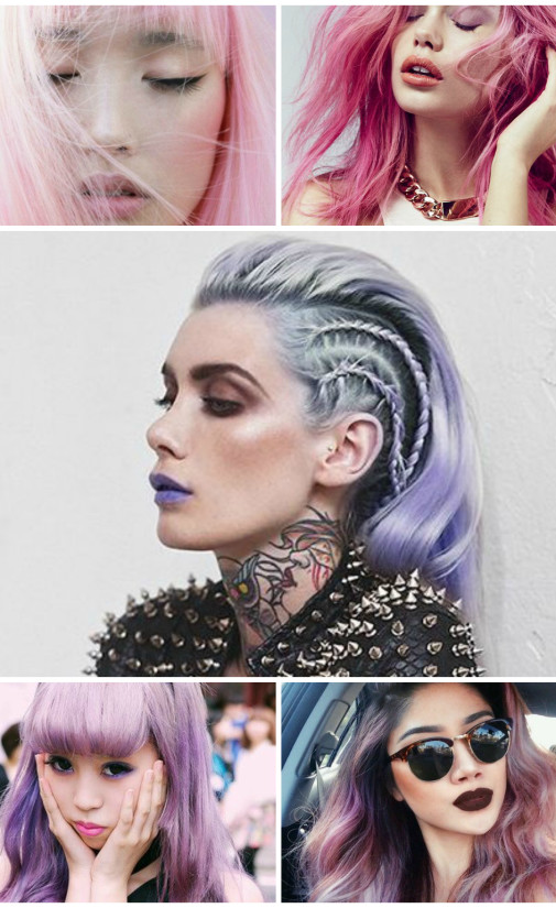 Which pastel hair is right for YOU?