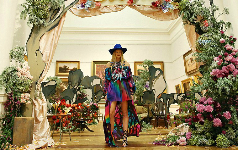 romance was born cooee couture sss15 emiunicorn.com rainbow rwb