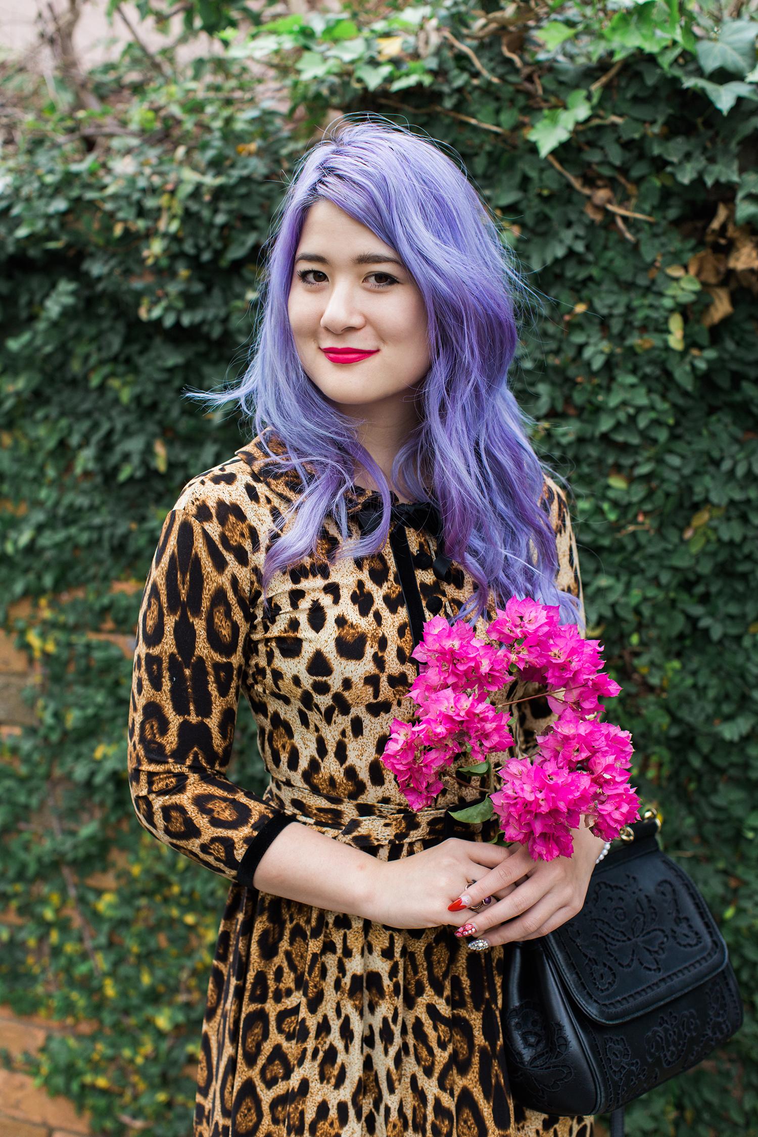 wheels and dollbaby leopard dress emi unicorn