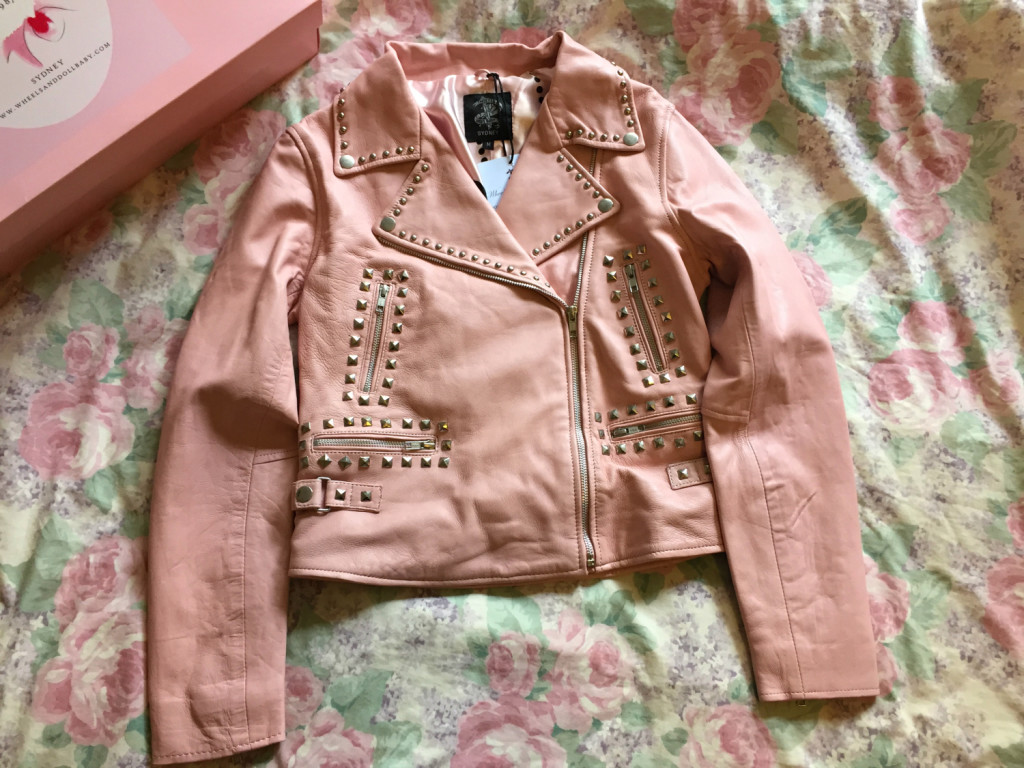 wheels and dollbaby pink leather jacket win - emiunicorn.com