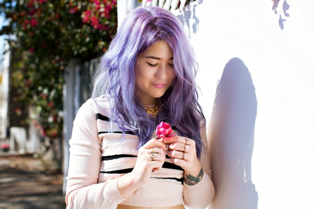 emi unicorn blogger pastel hair