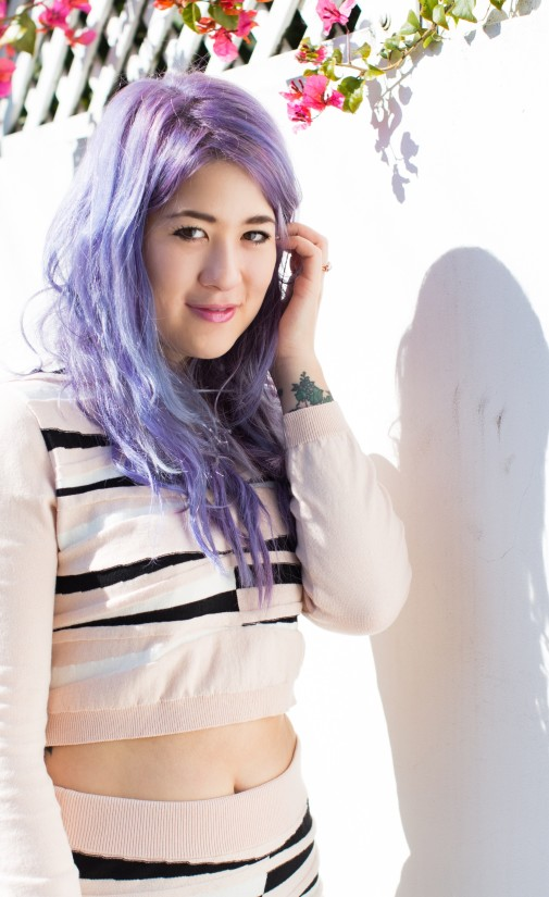 Why you should dress around your hair colour