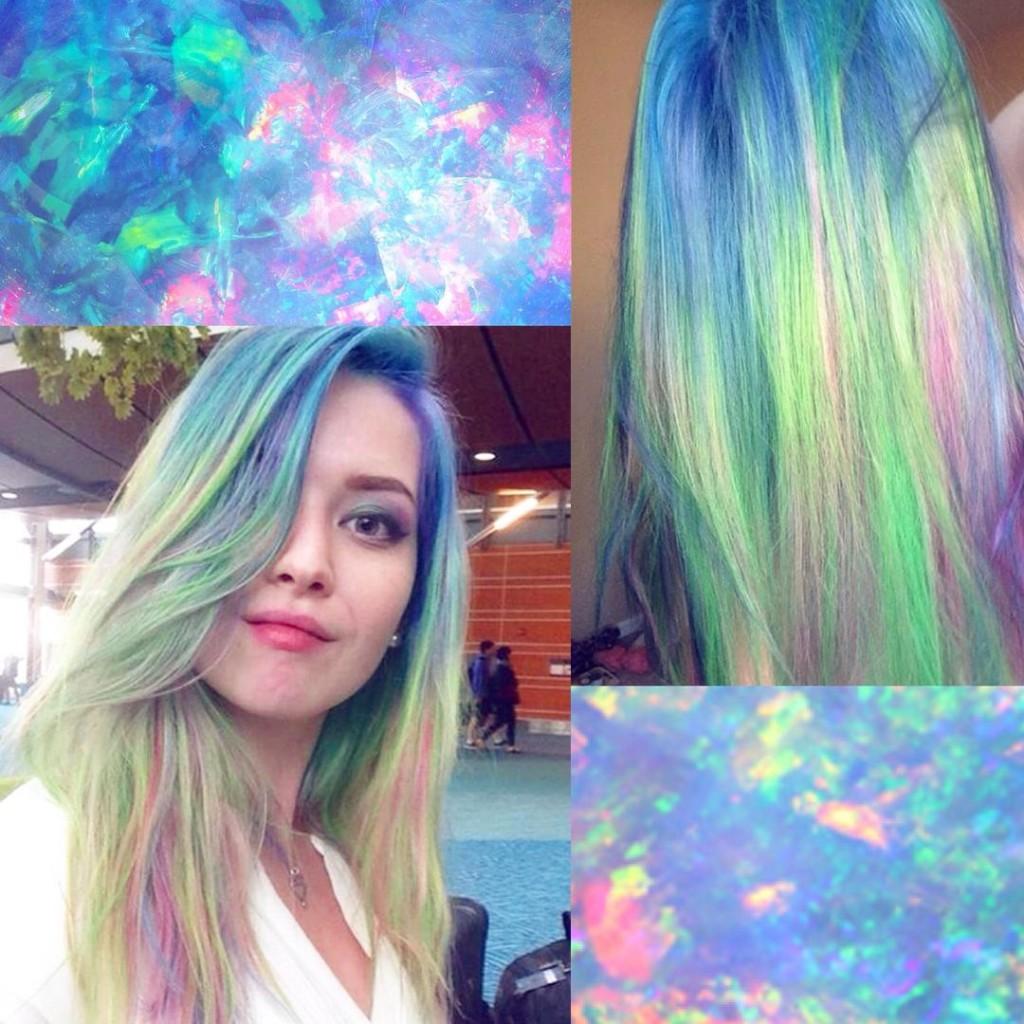 emiunicorn.com opal hair trend