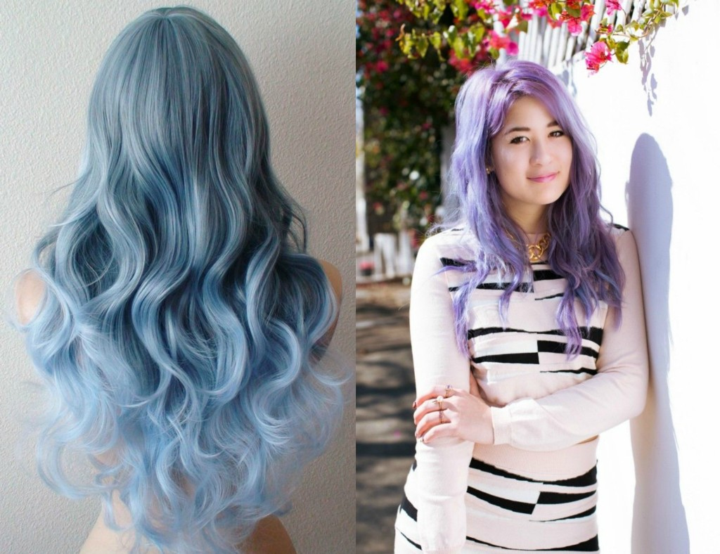 pastel hair blogger emi unicorn lilac hair guide
