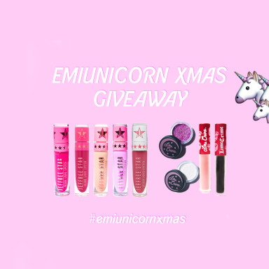 Win the ultimate makeup pack – #emiunicornxmas