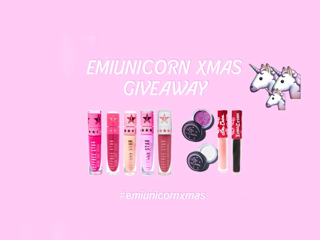 #emiunicornxmas giveaway
