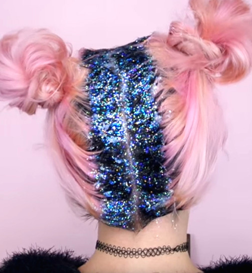 Glitter roots are the new answer to regrowth