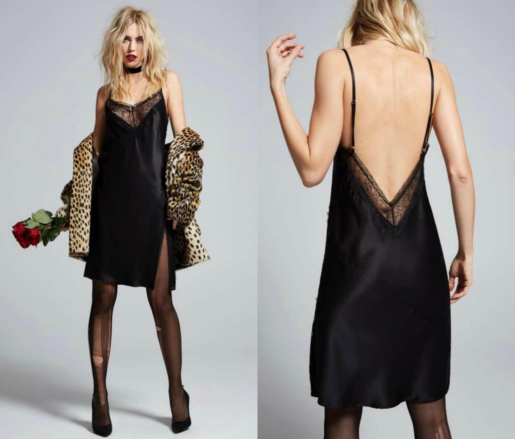 nasty gal love courtney malibu satin slip dress