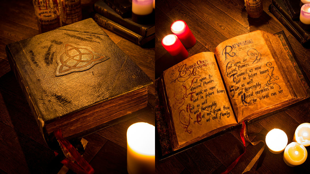 Prescott Manor Book of Shadows Charmed