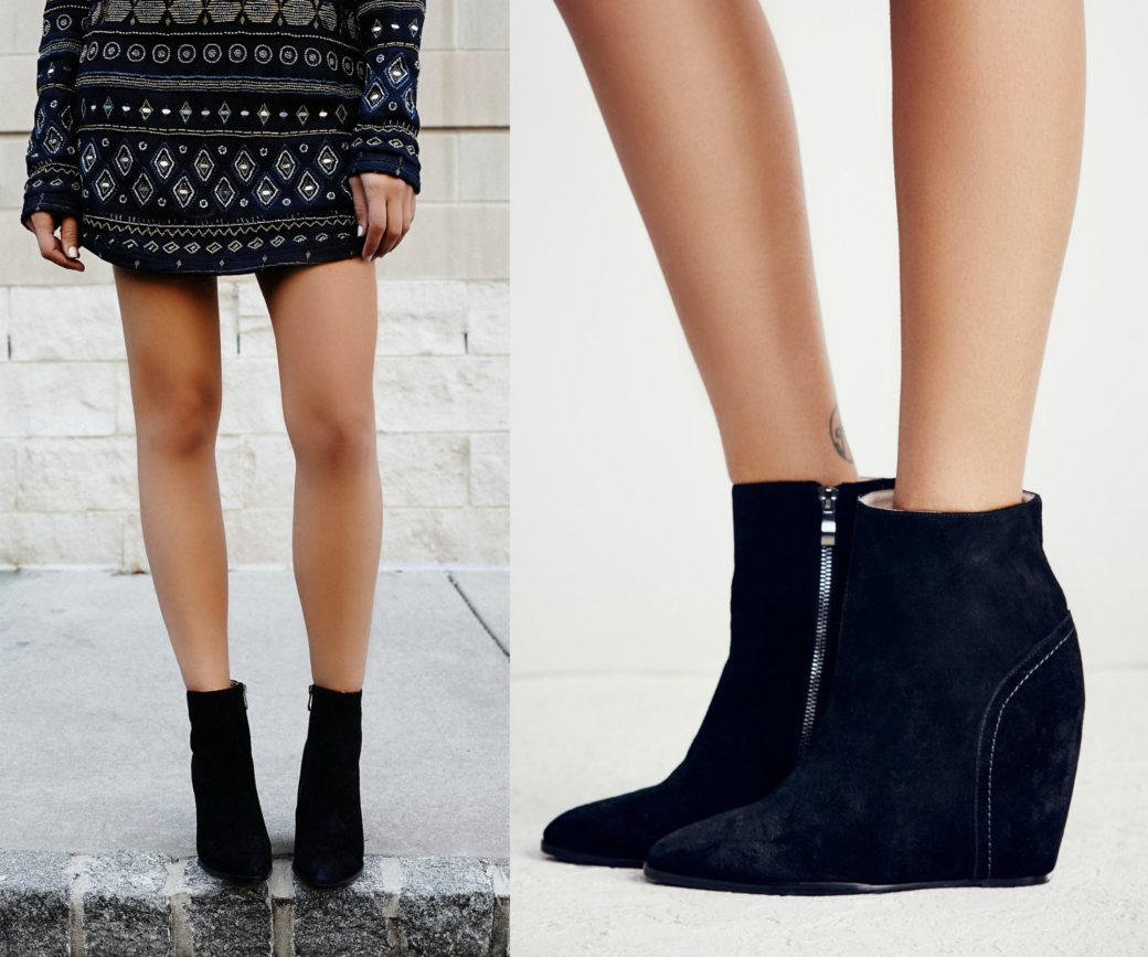 free people mystic moon wedges boots