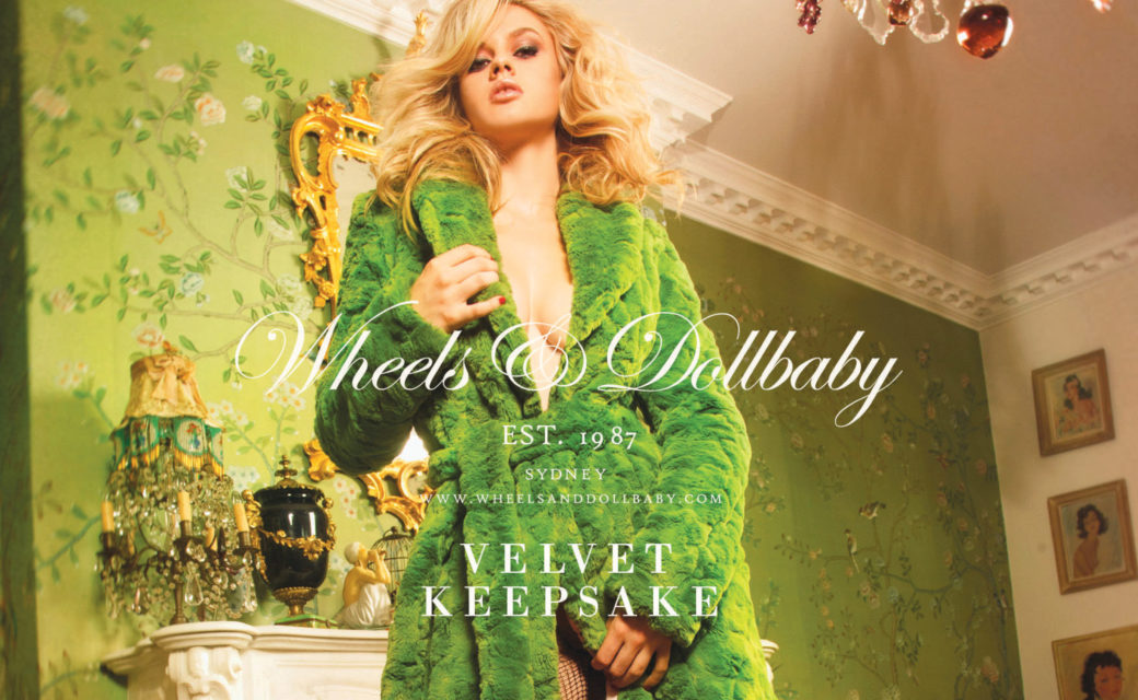 Wheels & Dollbaby Velvet Keepsake AW17